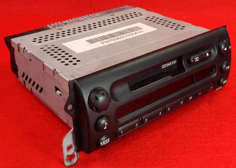 RD16592 Original BMW Business Mini R50 R52 R53 Dolby Kassettenradio Cooper One Autoradio 6512 6923503-01 DSC00748