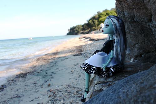 Frankie on the sea.   by violka1908
