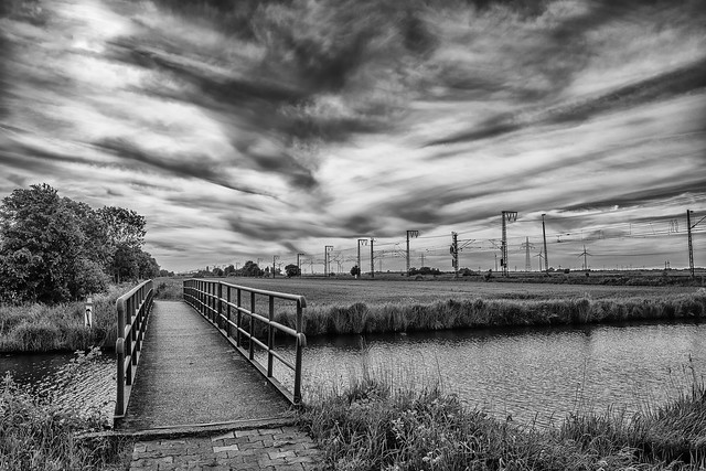 Brücke über die Lange Maar