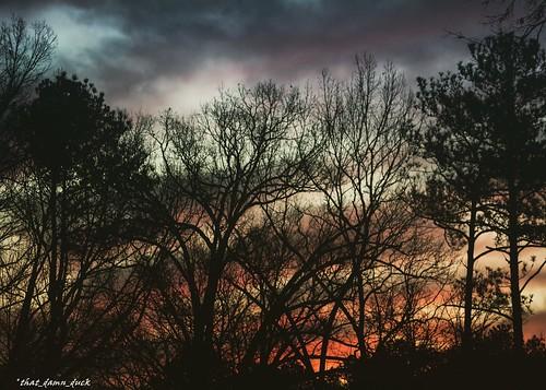 sunrise dawn nature clouds nikon