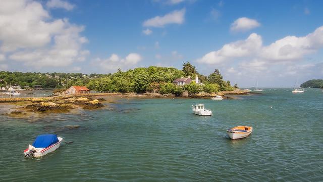 Coastal Beauty On The Menai Straits Anglesey