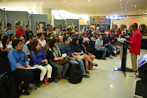 Audience and guests at the exhibit opening at SM Dasmarinas, Cavite | by paghilomcavite