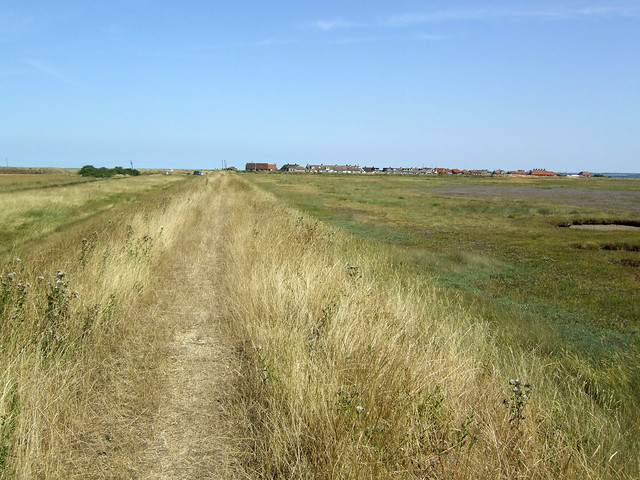 Path near Shellness, Isle of Sheppey