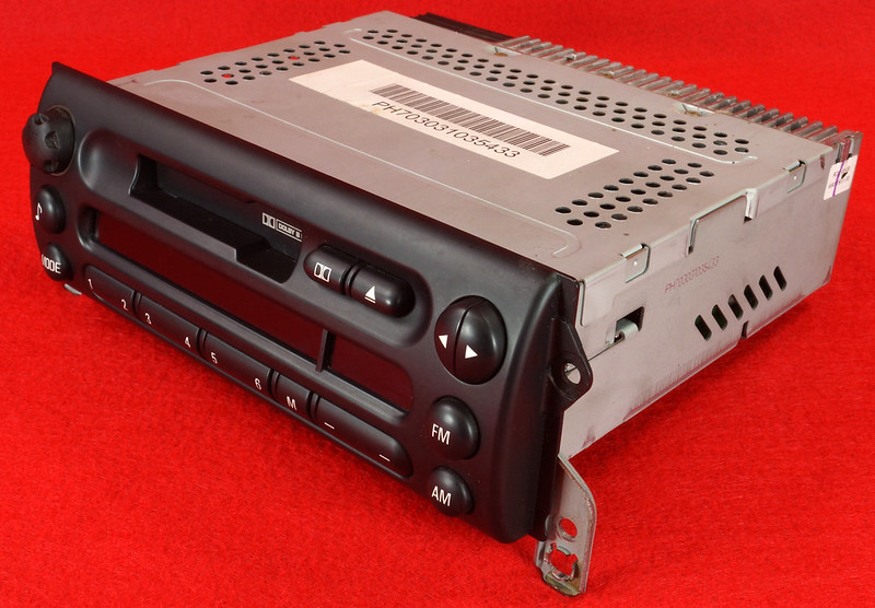 RD16592 Original BMW Business Mini R50 R52 R53 Dolby Kassettenradio Cooper One Autoradio 6512 6923503-01 DSC00749