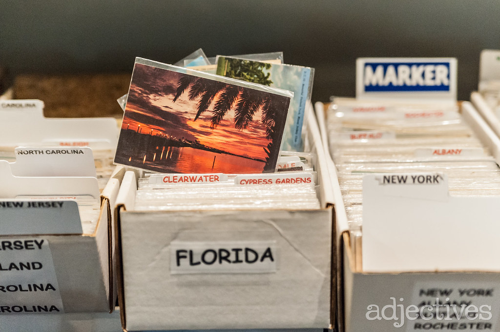 Vintage post cards in Altamonte by Antique Postcards