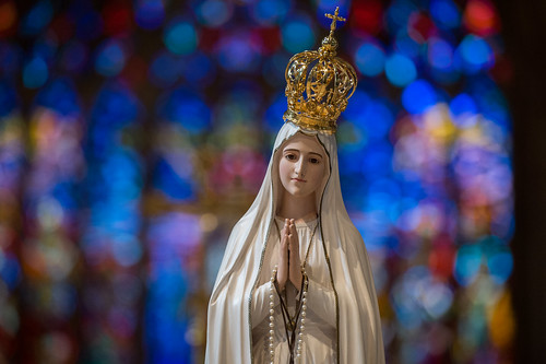 Visit and Crowning of National Pilgrim Virgin Statue of Our Lady of Fatima