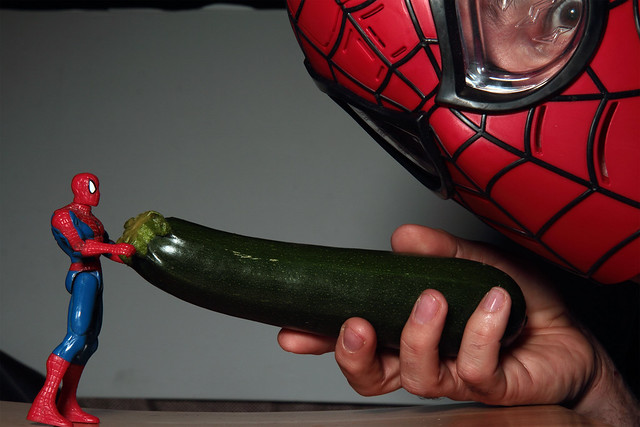Day 25 - Toys with food or clash of the spideys