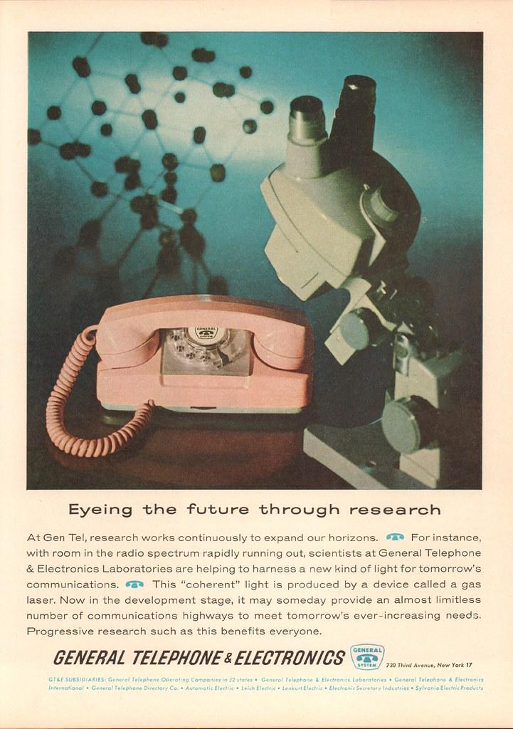 1962 General Telephone Advertisement Newsweek November 19 … | Flickr