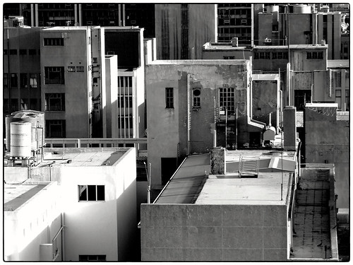 architecture buildings johannesburg innercity bw geometric compressed telephoto contrast