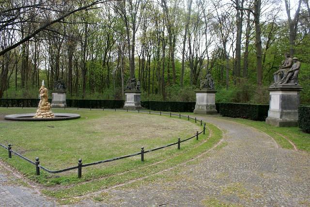 Der Großfürstenplatz im Berliner Tiergarten