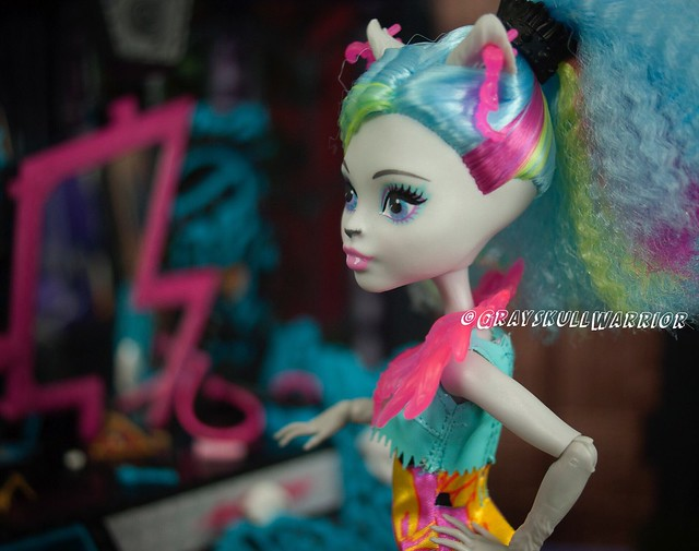 Silvi Timberwolf #electrified #monsterhigh #silvitimberwolf