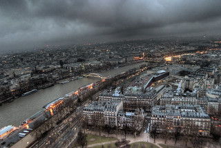 stormy skies in Paris | by Greg Gladman