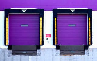 Empurpled Entryways   by www.toddklassy.com