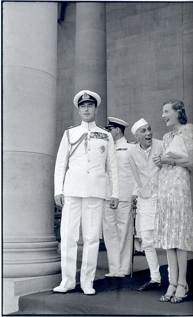Nehru and the Mountbattens