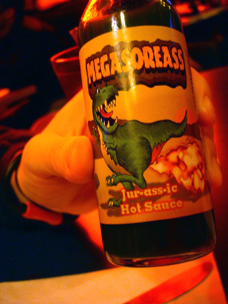 Ass Ic mega-sore-ass hot sauce @ duke's   plaid ninja   flickr