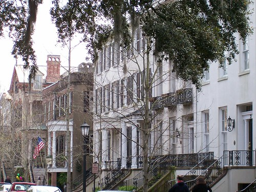 Old Savannah Houses | by Bill Ward's Brickpile