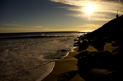 Sunset Beach Tide @ Malibu | by toastycakes