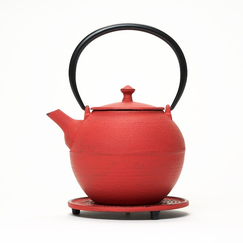 Kyoto Teapot Red