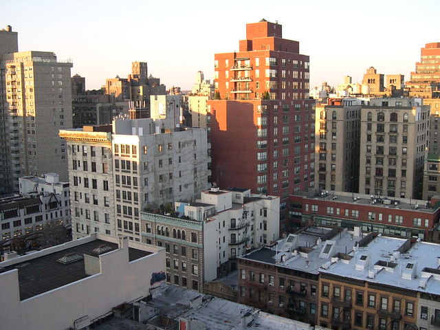 NYC, view from roof of Hotel Lucerne, Amsterdam and 79th, Nov 30, 2005