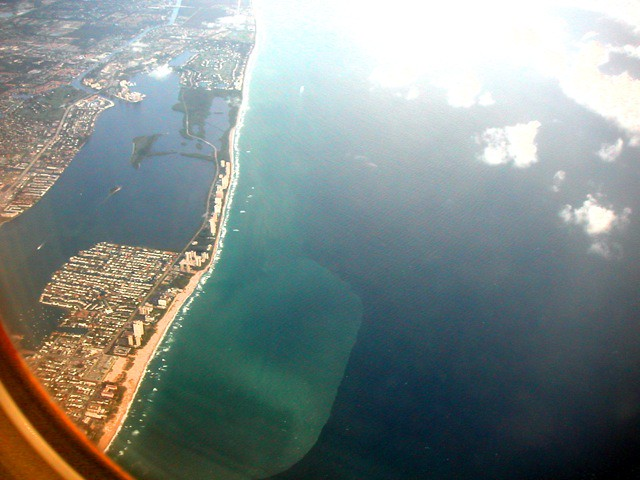 Flying over my Oceanfront Condo at The Tiara, Singer Island, Florida From 3000' - IMRAN™ -- 1500+ Views!