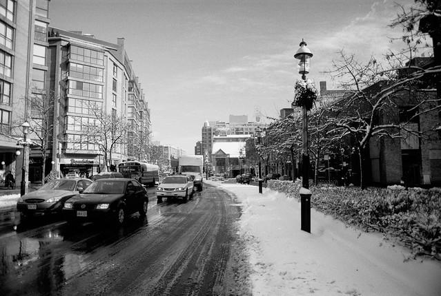 Front St in the Snow 01