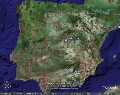 Google Earth Map Of Spain.Spain Google Earth Raul Ordonez Flickr