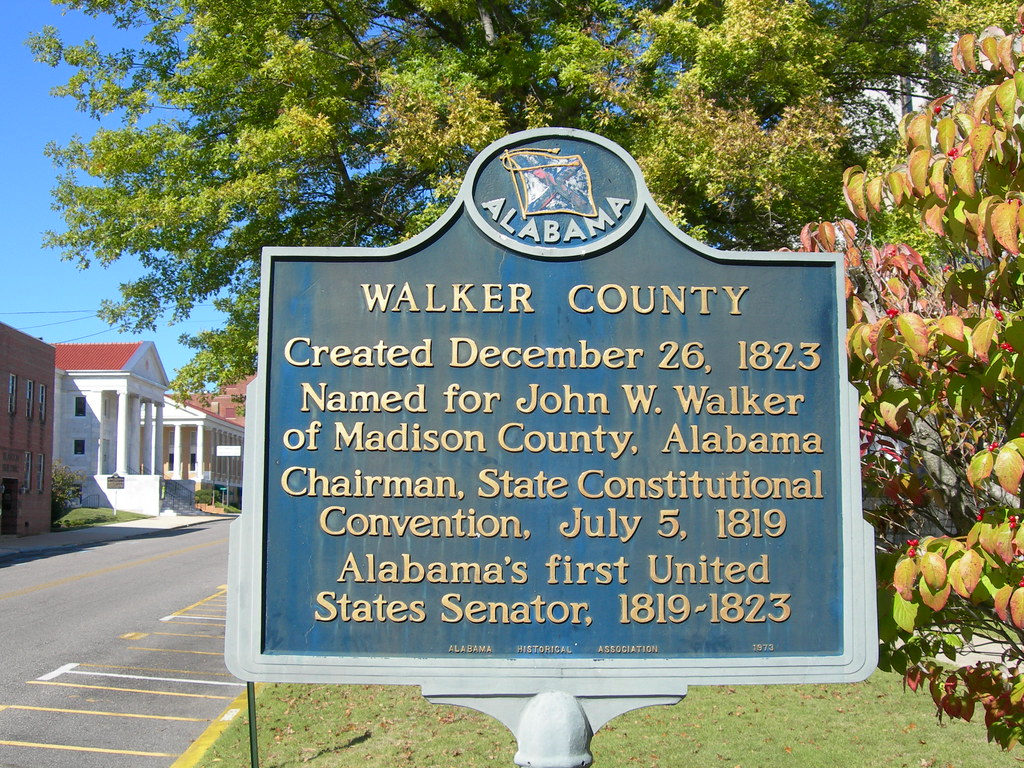 Walker County Historic Marker