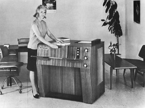 Secretary + Photocopy Machine | by Quasimondo