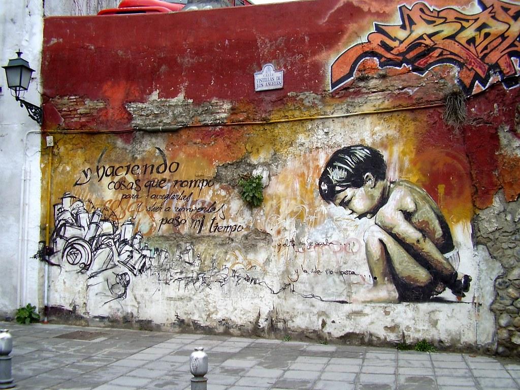 Resultado de imagen de niño de las pinturas granada