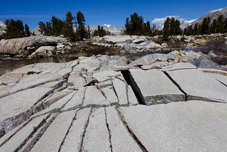 Fractured granite slab, m809 | by danlmarmot