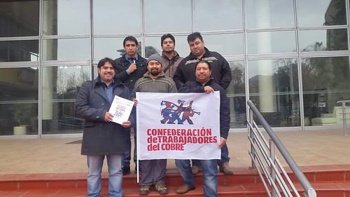 Entrega de Acuerdo Marco Ramal 2015 en Codelco División Andina