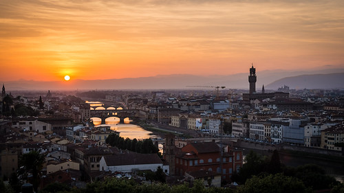 Florence Sunset | by Maëlick