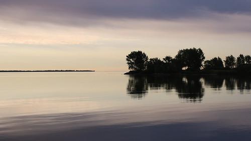 reflection landscape lakeontario