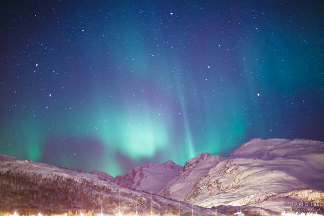 The Northern Lights over Tromso