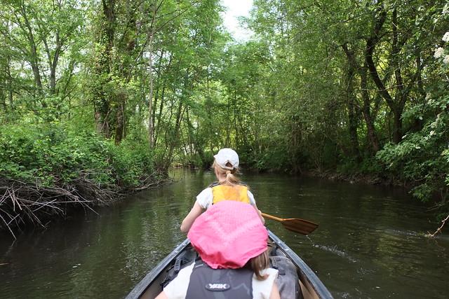 Mühlkanal nach Carennac, Dordogne, Mai 2016