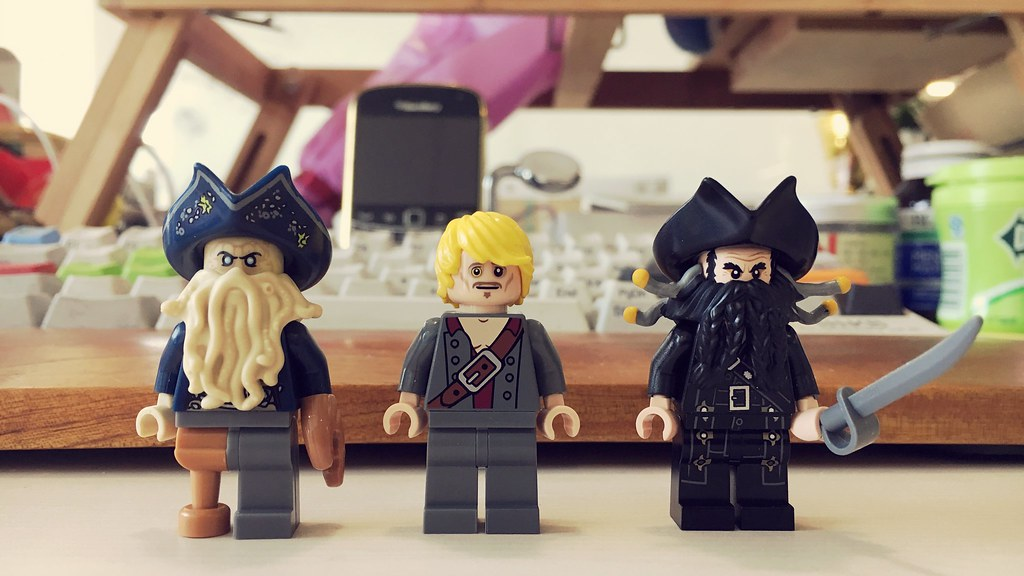 Hey My Evil Friends Lego Davy Jones Lego Edward And Christ Flickr