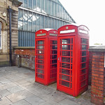 Preston station telephone boxes