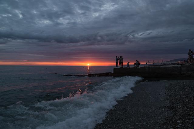 Sunset in Adler