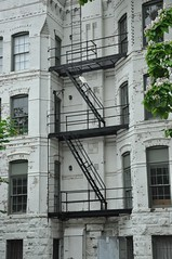 Fire-escape to Independence AV-SE