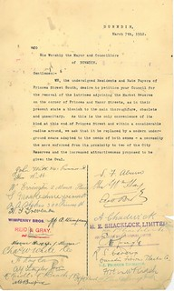 Town Clerk's Correspondence 1912 Manor Place Convenience 5