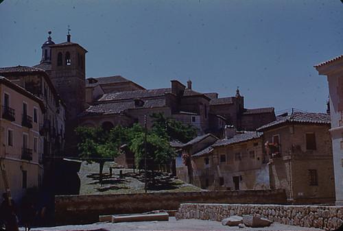 Iglesia de Santa Leocadia en Toledo en los años 50. Fotografía de Nicolás Muller  © Archivo Regional de la Comunidad de Madrid, fondo fotográfico