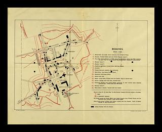 Messines Intelligence Map