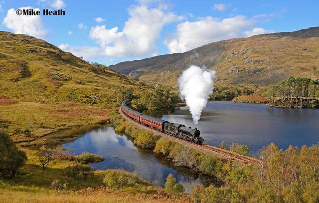 61994 - West Highland Line - Jacobite -12 October 2014