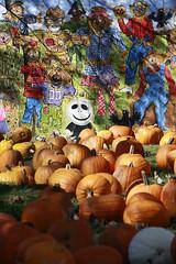 scarecrow mural