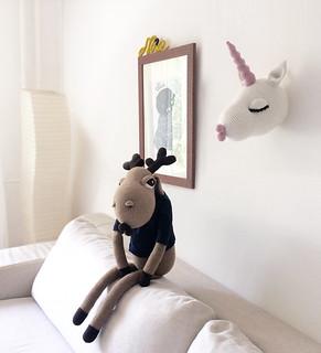 Unicorn and moose