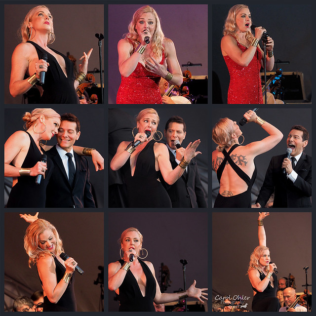 Storm Large and Michael Feinstein