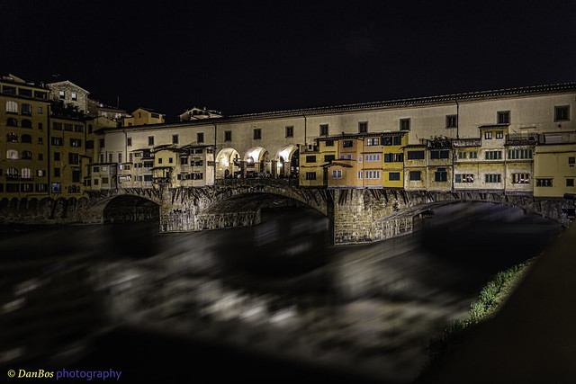 Ponte Vecchio by Night - Florence