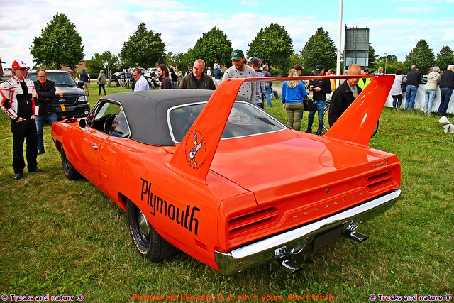 Plymouth Road Runner Superbird 1970 Rear View