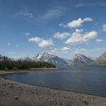 Jackson Lake from Lakeshore Trail