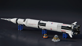Apollo Saturn V | by mecabricks